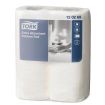 Keukenrol 15x23cm Wit Tork 120269 2Rol/Pak