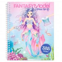 Fantasy Model Dress Me Up Stickerboek
