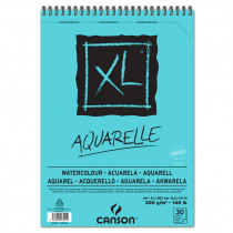 Canson Album xl Aquarelle 30 Vellen 300g/m² A4 Spiraal