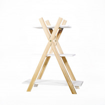 Presentatie Rek Wit + 3 Plankjes Wit
