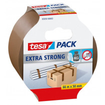 Tesa Packaging 66mx50mm Bruin Pvc Extra Strong