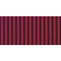 Ribkarton 50x70cm Bordeaux