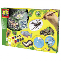 SES Gieten En Schilderen Enge Beesten En Insecten
