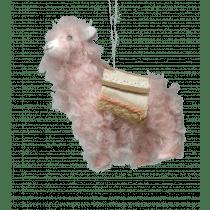 Alpaca Pluche 12cm Roze