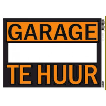 Affiches 25x35cm Pickup Garage Te Huur