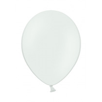 Ballon Pastel 27cm Wit 50 Stuks