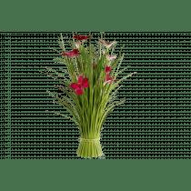 Boeket Bloemen 55cm Roze Lila