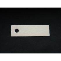 Naamkaartje 5X1,5Cm Opaal 100 Stuks