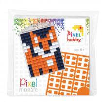 Pixelhobby Sleutelhanger Pixel Vosje