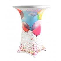 Tafelhoes Voor Statafel 80cm Diameter - 85cm Diameter Feest Ballon