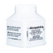 Decopatch Gesso Dekkende Verf Wit 70g
