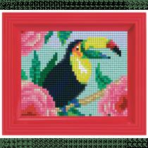 Pixelhobby Geschenkset Pixel Toekan