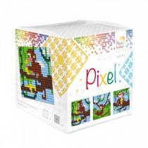 Pixelhobby Kubus Pixel Aapjes