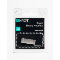 Naga Magneet 1x1x0,5cm Extra Strong Voor Glasbord 6 Stuks
