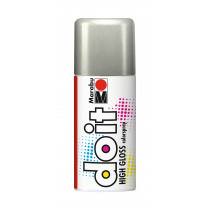 Marabu Do It High Gloss Hoogglans Zilver 150ml