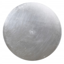 Decobord 0,5cm Zilver 36cm Diameter Foil