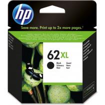 HP Inktcartridge 62XL Zwart