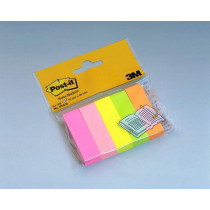 Post-It Notes 15x50mm Post-It Markers 5 Pads