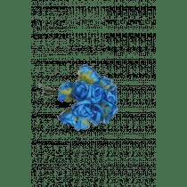 Roosjes Mini Turquoise-Watergroen 12 Stuks