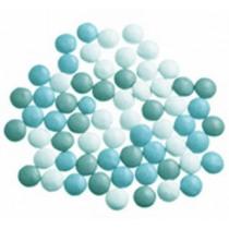 Vanparys Mini Confetti Mix Wit/Blauw/Cactusblauw Glossy 1kg