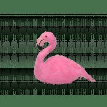 Flamingo Zittend 12,5x6,5x12cm Roze