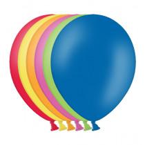 Ballon Pastel 27cm Assortiment 50 Stuks