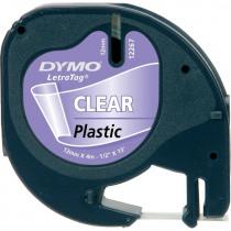 Dymo Tape Transparant Letra 12267 4m x 12mm