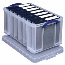 REALLY USEFUL BOX 48l TRANSPARANT