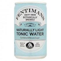 Blikje Fentimans Tonic 150ml 88mm Blauw 53mm Diameter Naturally Light