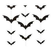Slinger Verticaal Met Vleermuizen 2m Zwart