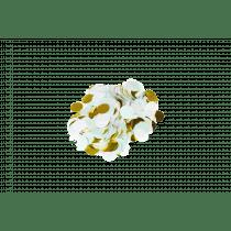 Tafelconfetti Mix 2,5cm Diameter - 40g Wit-Munt-Goud