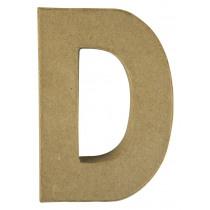 Letter Papiermache D 10,5x3x15cm