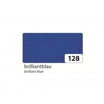 Crêpepapier 2,5M x 50cm Folia Blauw