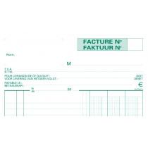 Factuurboek Exacompta A4 3X50 Tweetalig
