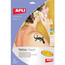 Tattoo Transfer Papier Apli A4 Inkjet 2Vellen