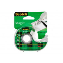 Tape 25m x 19mm Scotch Magic Met Dispenser