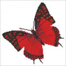 Diamond Dotz Diamond Dotz Flutter By Red 38x38cm