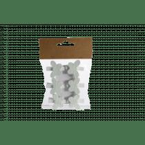 Clip Met Vlinder 3,8x3,5cm Mint Hout 6 Stuks