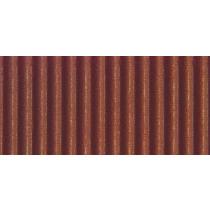 Ribkarton 50x70cm Bruin