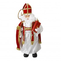 Sinterklaas 71cm Rood