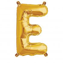 Folieballon 41cm Goud 'E'