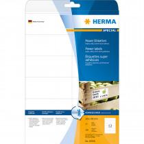 Etiketten 105x48mm Herma Strong A4 25 Vellen 300 Stuks