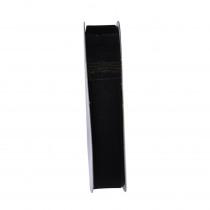 Lint Woven Edge 25m x 15mm Zwart