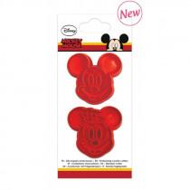 Scrap Cooking Uitsteekvormpjes Mickey & Minnie