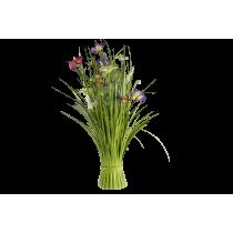 Boeket Bloemen 55cm Wit Roze Fuchsia