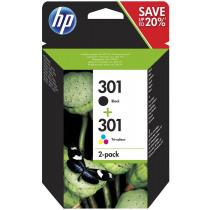 HP Inktcartridge 301 Zwart+Tricolor