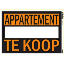 Affiches 25x35cm Pickup Appartement Te Koop