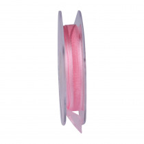 Lint Satin Edge 25m x 10mm Roze
