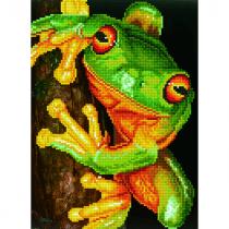 Diamond Dotz Diamond Dotz Green Tree Frog 35x45cm