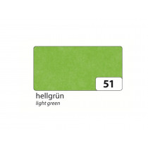 Zijdepapier 50x70cm Folia Lichtgroen 26 Vellen